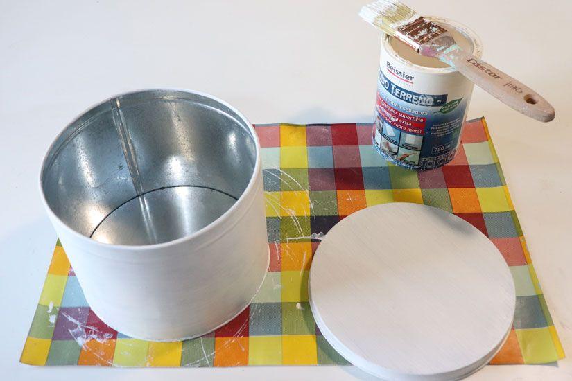 Cómo customizar una lata por Anna Llansa