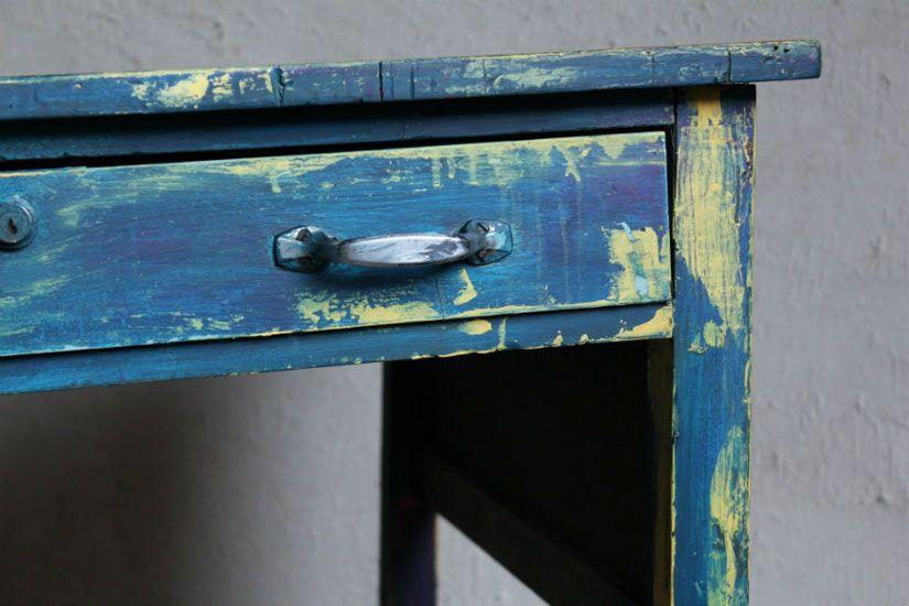Restaurar escritorio estilo boho chic con mya chalk paint de TodoStencil