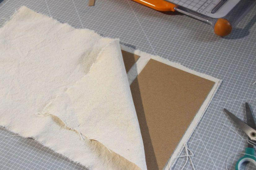 Tutorial libreta de costura con la colección Entretela de Todo Stencil