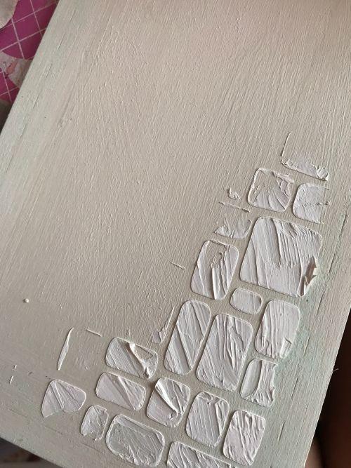 tag madera chalk paint stencil todostencil