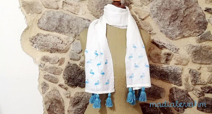pañuelo flamencos markal todostencil