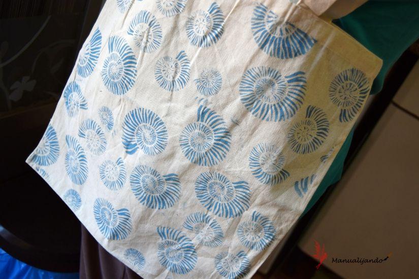 mixed media tote bag plantilla markal todostencil