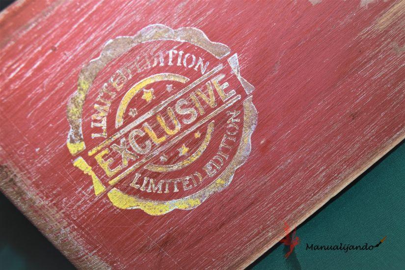 todostencil caja vintage
