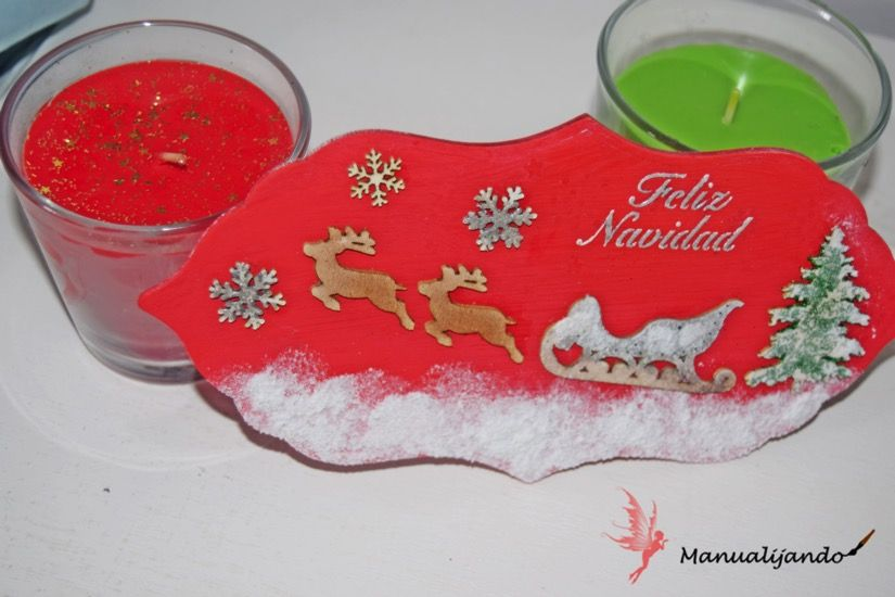 todostencil cartel navidad