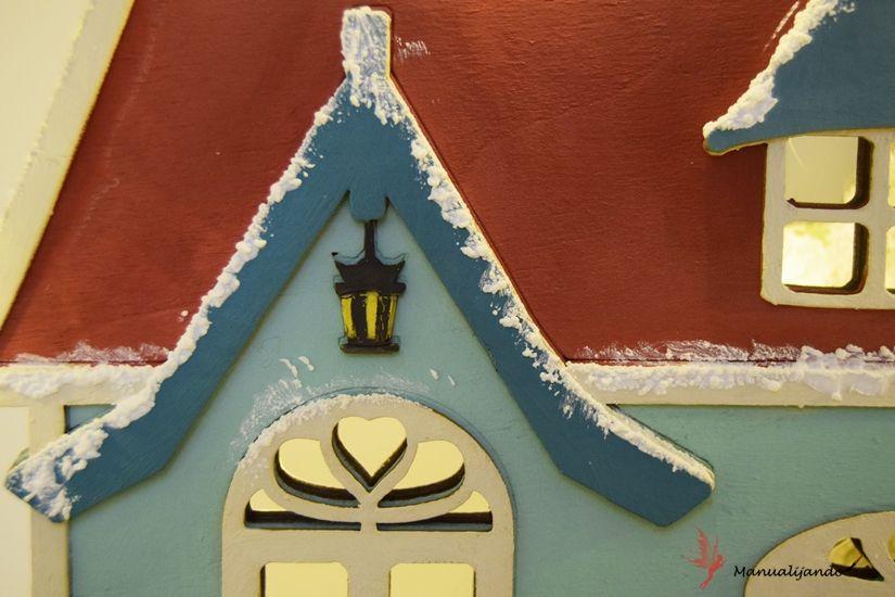 efecto nieve con mya foam paint de TodoStencil