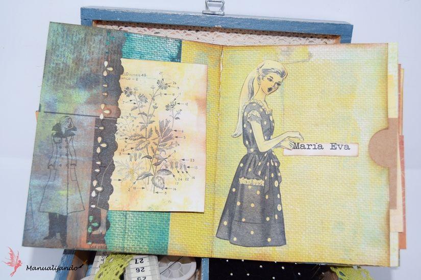 Álbum con la colección Mya Entretela de Aurora Almunia TodoStencil