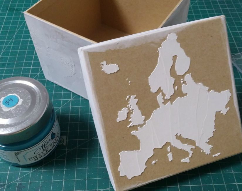 todostencil caja relieve mapa