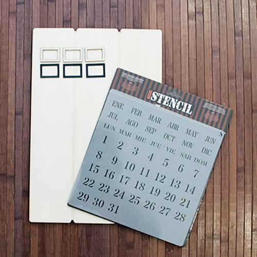 Kit diy calendario perpetuo 1 articulos