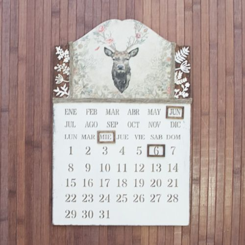 Kit Diy calendario perpetuo 2