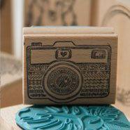 sello de caucho de cámara de fotos